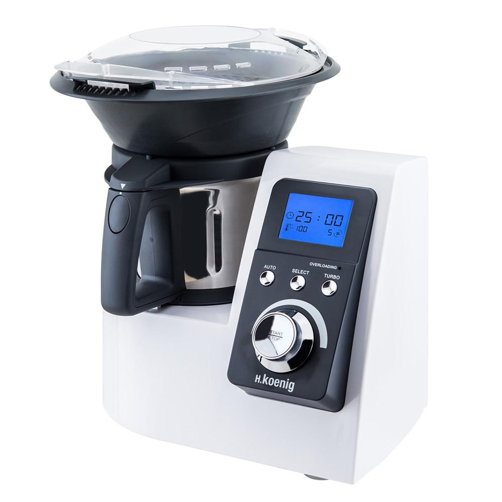 Robot de cocina pantalla
