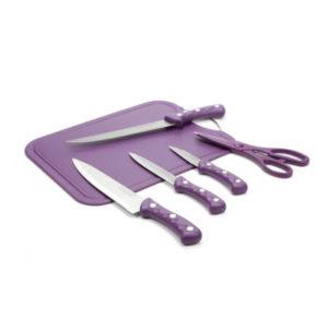 Set tabla, cuchillos y tijeras